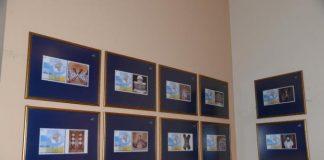Εγκαίνια της έκθεσης γραμματοσήμου για τον Άγιο Ανδρέα.